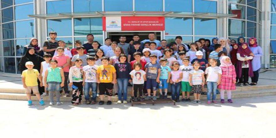 Sivas Özgür-Der'de Yaz Okulu Sona Erdi