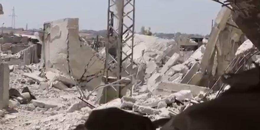 Esed'e Bağlı Güçlerin Olduğu Bina Havaya Uçuruldu!