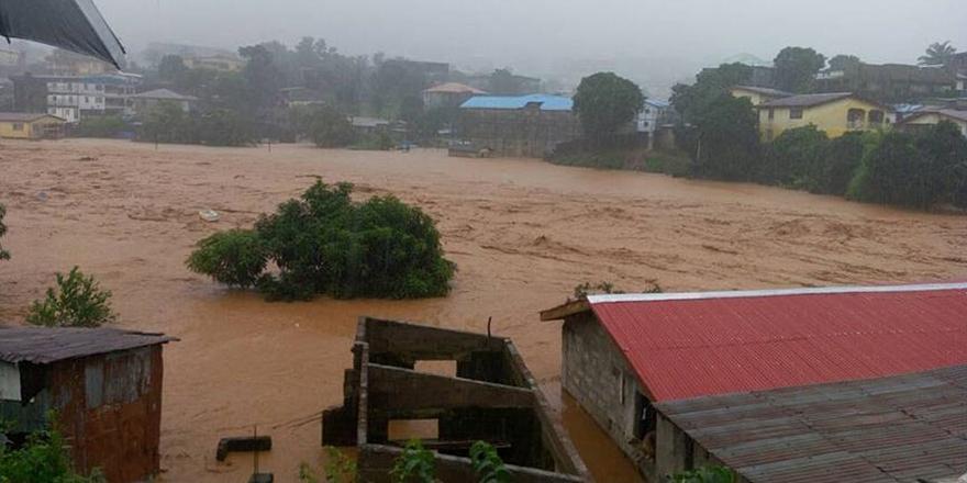Sierra Leone'de Sel ve Toprak Kaymaları: 312 Ölü