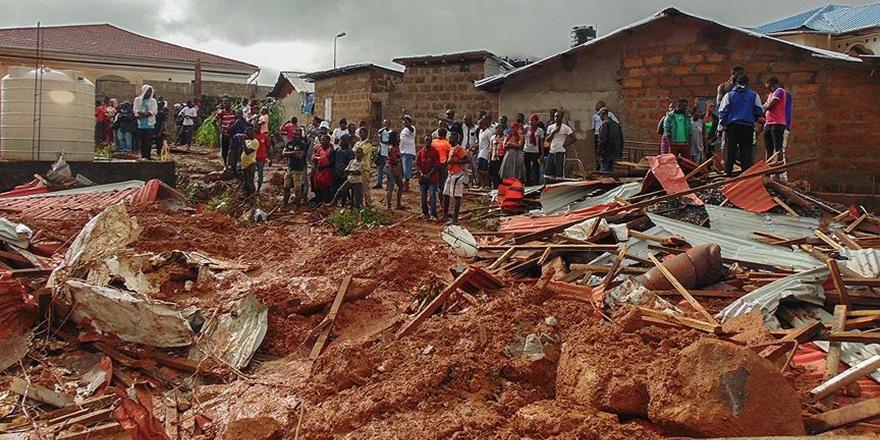 Sierra Leone İçin Dünyaya Yardım Çağrısı