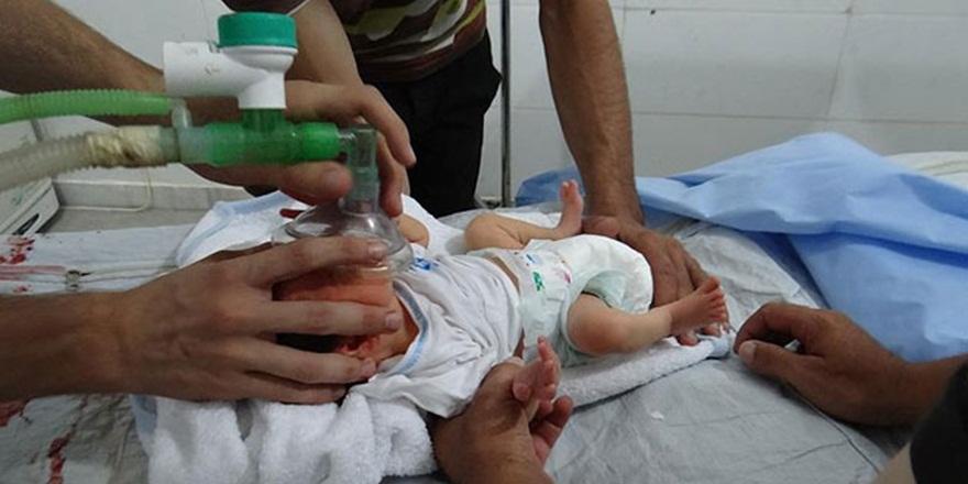 """""""Doğu Guta'da 20 Bebekten Biri Engelli Doğuyor"""""""