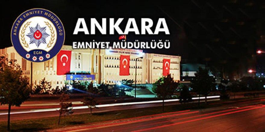 Ankara Emniyet Müdürü Değişti