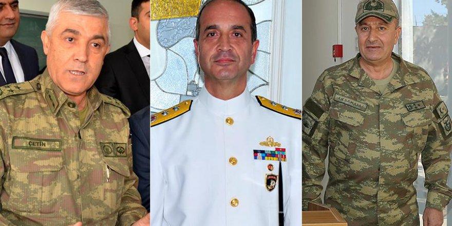 Jandarma, Donanma ve 2. Kolordu Komutanları Atandı