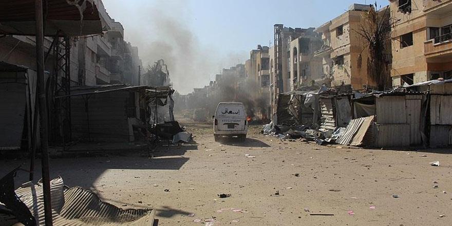 Esed Güçleri Humus'ta Sivillere Saldırmaya Devam Ediyor!