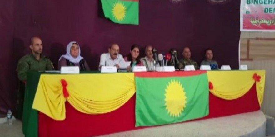 PKK Şengal'de (Sincar) 'Özerklik' İlan Etti!