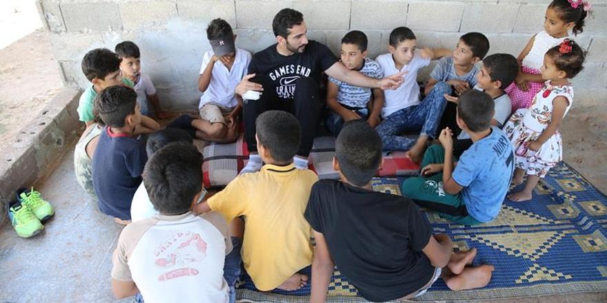 Suriyeli Çocukların Mutluluğu İçin Buluştular