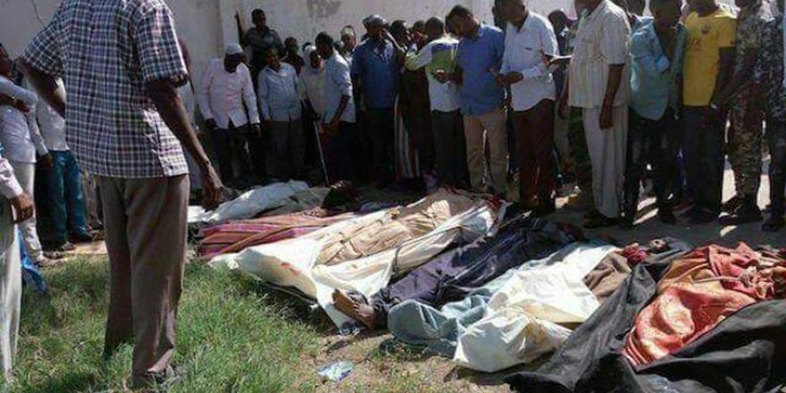 ABD ve Somali Ordusu 3'ü Çocuk 10 Sivili Katletti!