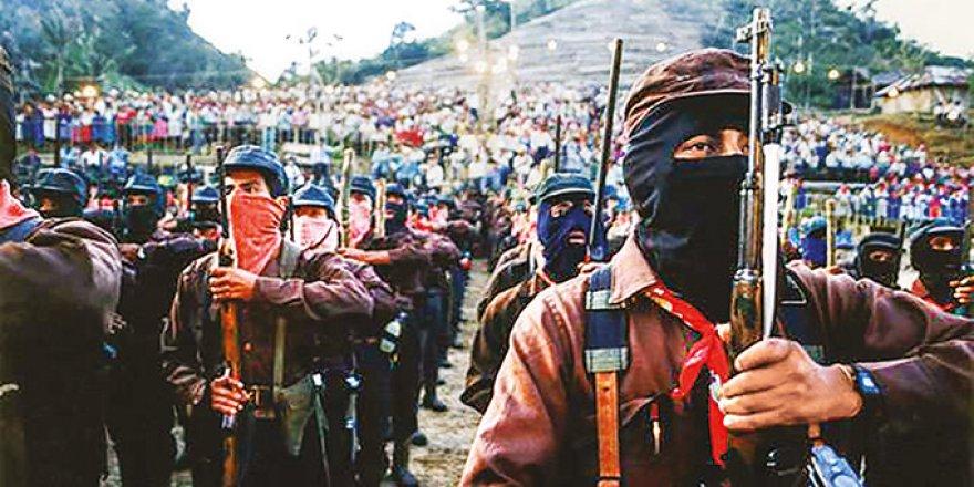 Zapatistalar 'Ülkede Çok Şiddet Var' Diye Silah Bırakıyorlar