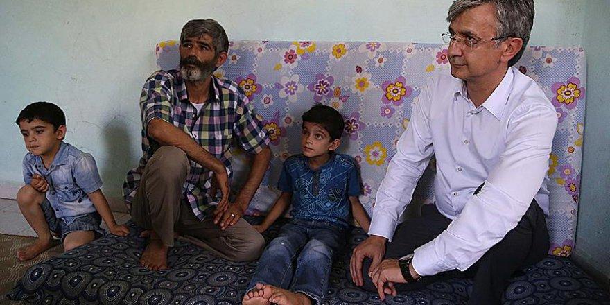 Suriyeli Küçük Mahmut İstediği Protez Göze Kavuşuyor