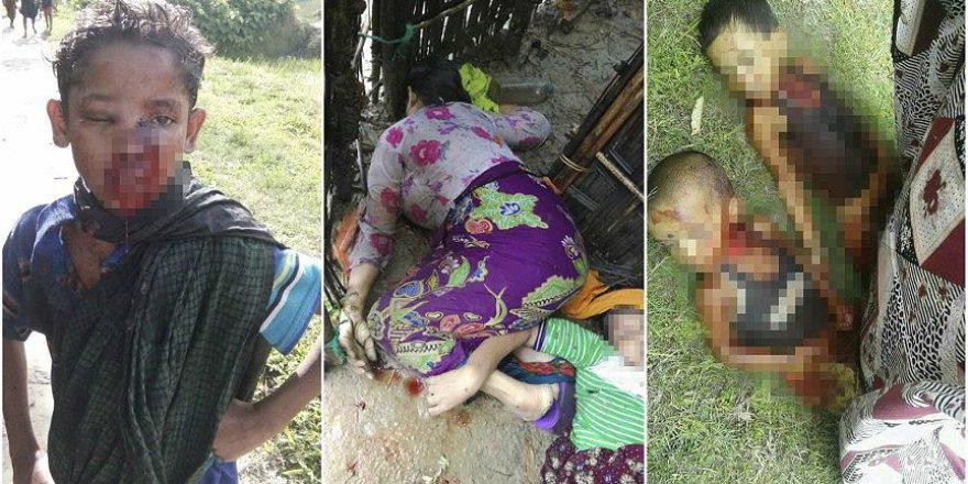 Arakan'da 3 Günde 2 ila 3 Bin Müslümanın Katledildiği İddia Ediliyor