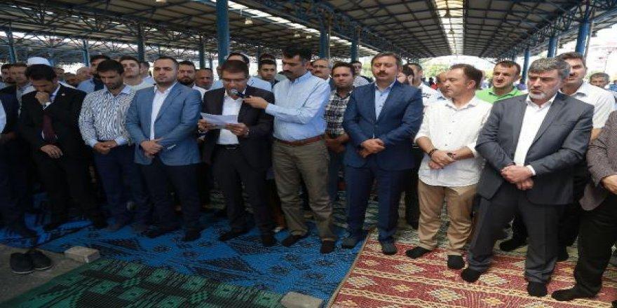 Arakan'daki Zulümler Kocaeli'de Protesto Edildi
