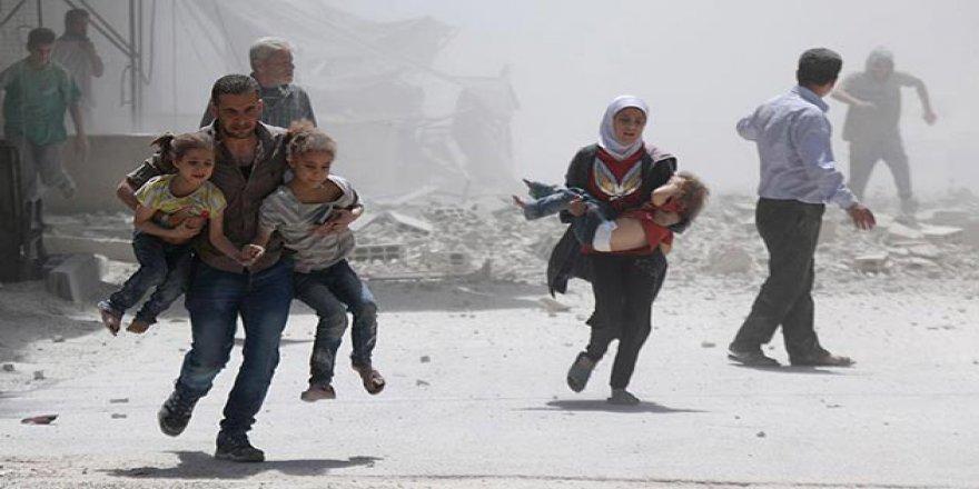 Esed Rejimi Şam'da Pazar Yerini Vurdu