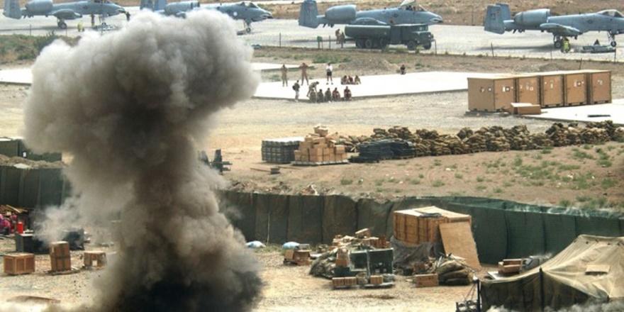 Taliban'dan ABD'nin En Büyük Askeri Tesisine Bir Saldırı Daha