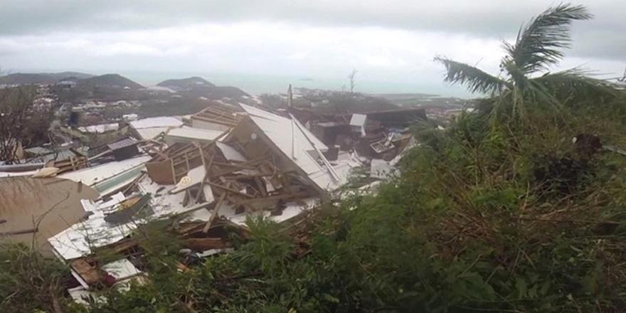 Irma Kasırgası Karayipler'i Kırıp Geçirdi!