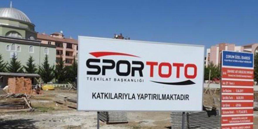 Spor Toto Kumar Teşkilatı Çorum'da İmam Hatip Ortaokulu Yaptırıyor