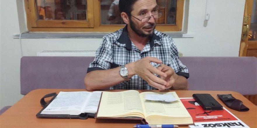 Sivas Özgür-Der'de 'Vahye Tutunmak' Konusu İşlendi
