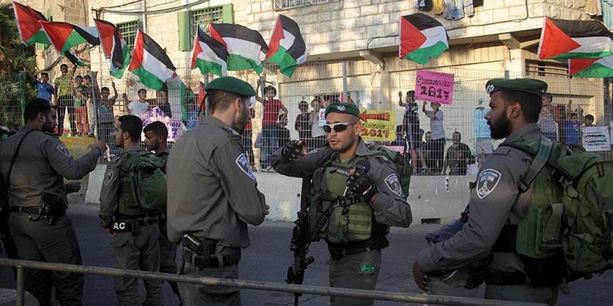İşgalci Askerlerden el-Halil'deki Gösteriye Müdahale!
