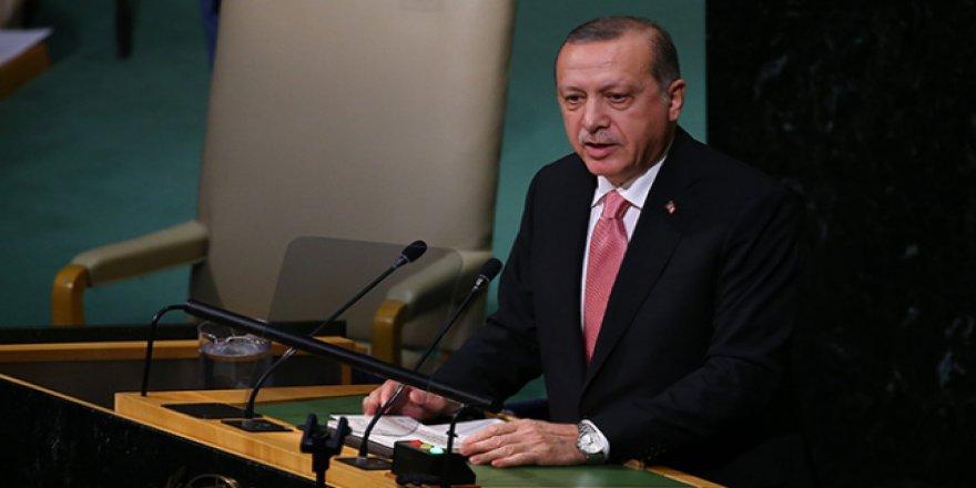 Cumhurbaşkanı Erdoğan BM Genel Kurulunda Konuştu