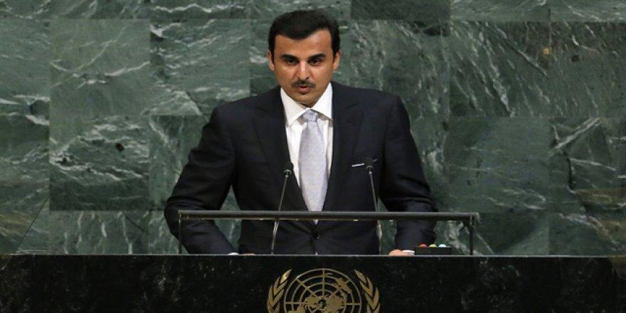 Katar Emiri Al Sani: Baskı Altındaki Halklar Kendilerini Yalnız Hissediyor