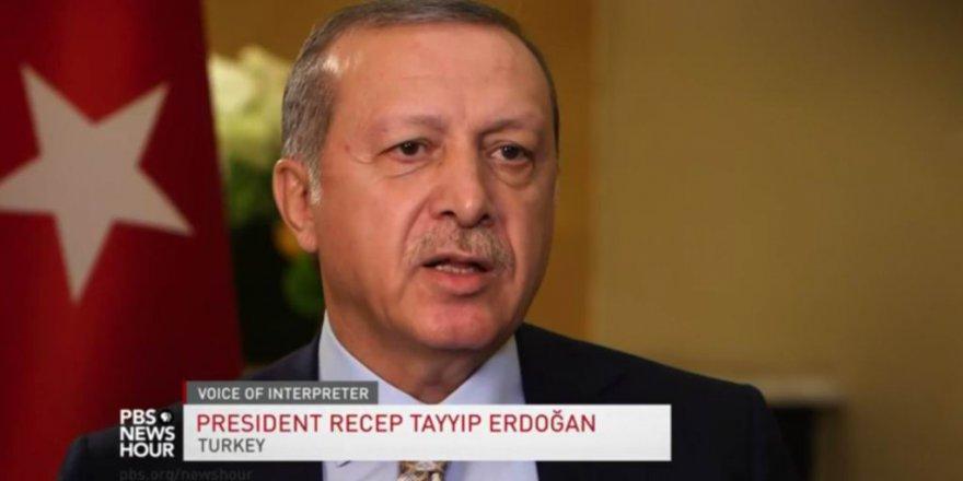 Erdoğan: 'O Silahları Biz Alamazken Teröristlere Neden Veriyorsunuz?'
