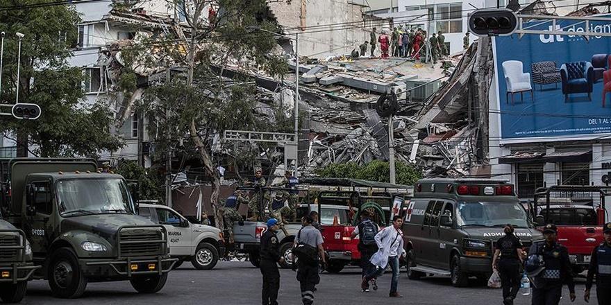 Meksika'daki Depremde Ölenlerin Sayısı 248'e Yükseldi