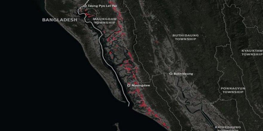 Arakan'da 214 Köy Haritadan Silindi