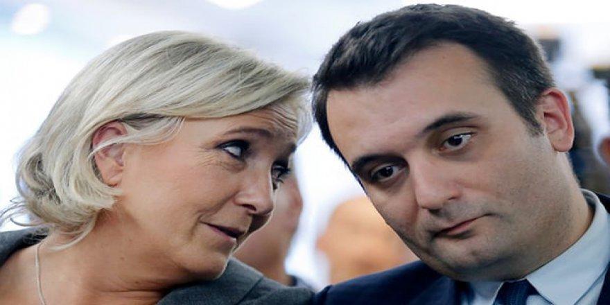 Irkçı Le Pen'in Yardımcısı İstifa Etti
