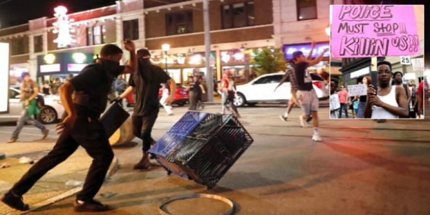 ABD'de Siyahilerin Gösterileri Sürüyor