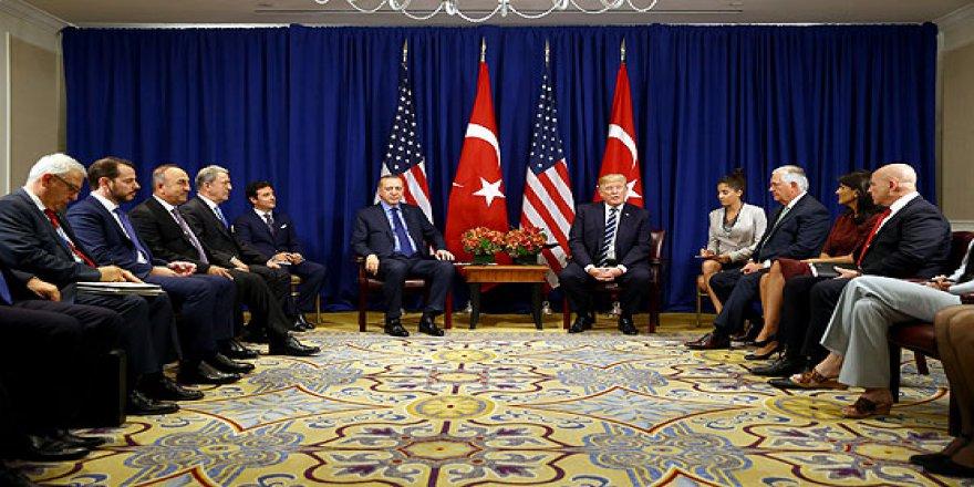 Erdoğan-Trump İle Bir Araya Geldi
