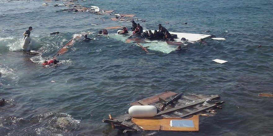 Libya'da Göçmen Teknesi Battı: Yüzden Fazla Kişi Kayıp
