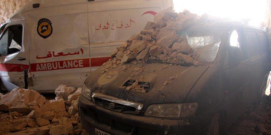 İdlib'de Sivillere Yoğun Hava Saldırıları Sürüyor