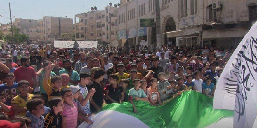 İdlib'te 'Astana' Protestoları Sürüyor