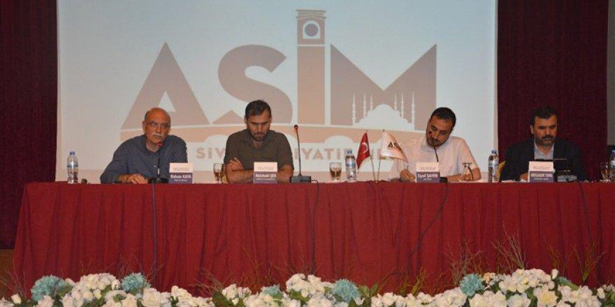 Adana'da 'Ümmet Coğrafyası ve Sorumluluklarımız Paneli' Düzenlendi