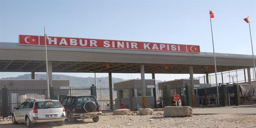 Habur Sınır Kapısı'ndan Geçişler Tek Taraflı Kapatıldı
