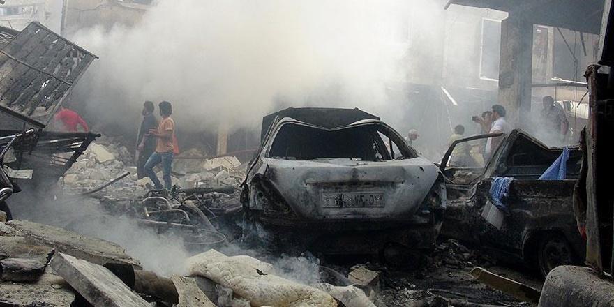 Suriye'de Sivillere Yönelik Hava Saldırıları Sürüyor!