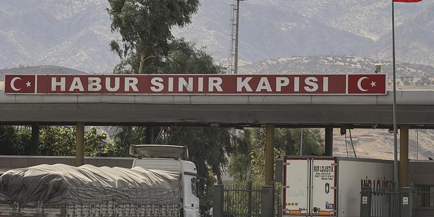 """""""Habur Sınır Kapısı Kapatılmadı"""""""