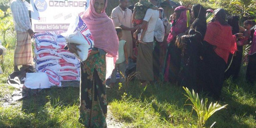 Özgür-Der ve Fetih-Der'in Arakanlı Müslümanlara Desteği Devam Ediyor