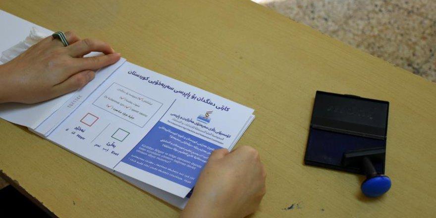 IKBY'deki Referandumda Sandıklar Kapandı
