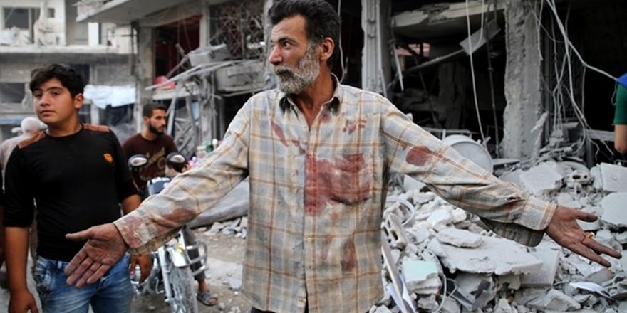 Rusya İdlib'de Teröristleri Bombalıyormuş!