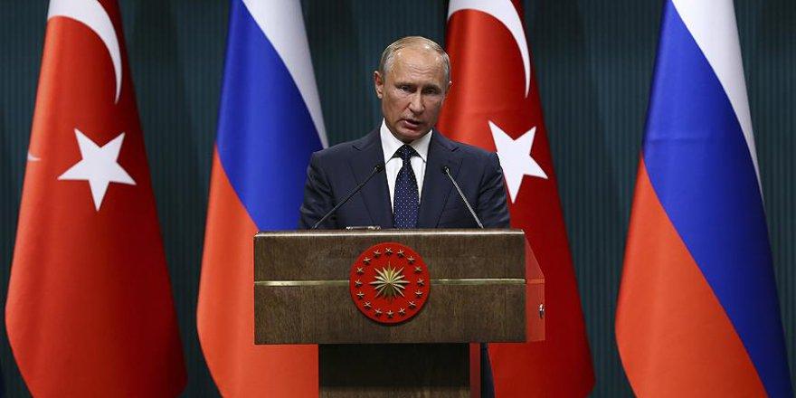 Putin: Erdoğan'ın Girişimleri ve İradesiyle Önemli Bir Başarıya İmza Attık