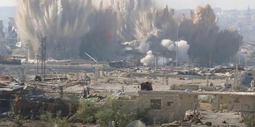 Doğu Guta'daki Direnişçilerden Esed Güçlerine Saldırı!