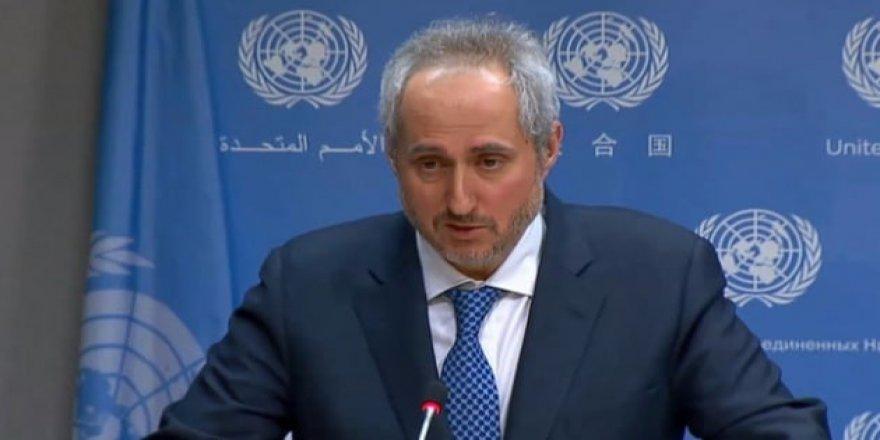 BM Sözcüsü Dujarric'ten IKBY Açıklaması