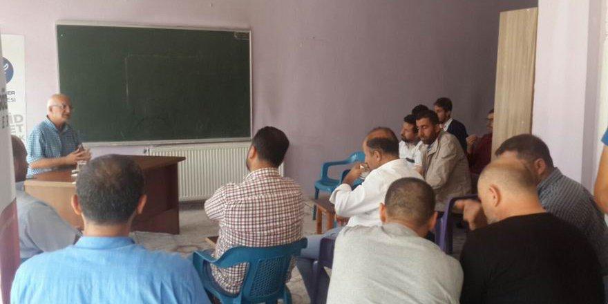 """Muş Özgür-Der'de """"İslami Uyanış Serencamımız"""" Konusu Ele Alındı"""