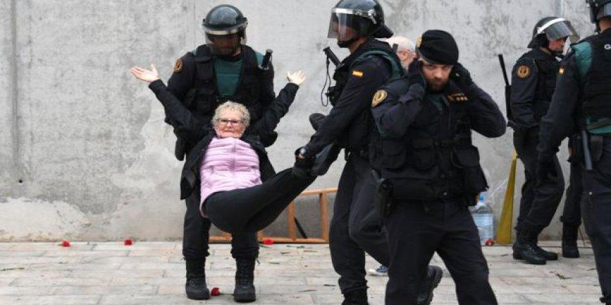 Katalonya'da Bağımsızlığa Destek Verenlerin Oranı %90,09