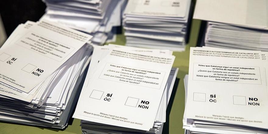 AB: Katalonya'daki Bağımsızlık Referandumu Yasal Değil