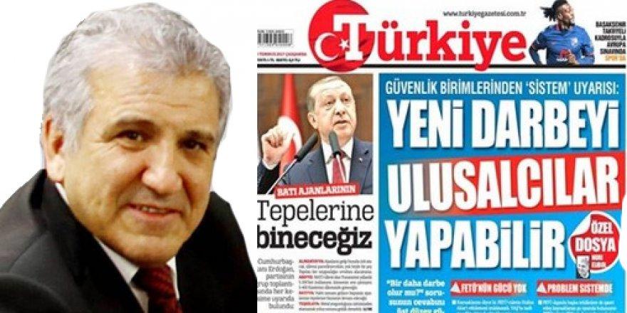 'Yeni Darbeyi Ulusalcılar Yapabilir' Diyen Nuri Elibol Türkiye Gazetesinden Ayrıldı