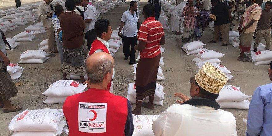 Türk Kızılayı'nın Yemen'de İhtiyaç Sahiplerine Yardımları Sürüyor