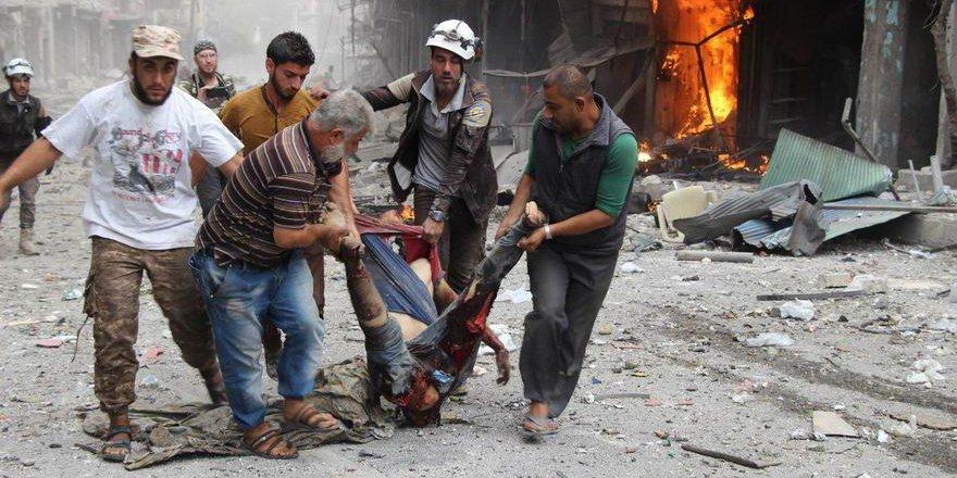 Rus ve Rejim Güçlerinin Saldırılarında 124 Müslüman Katledildi