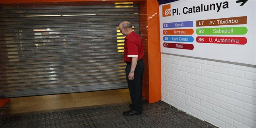 Referandum Sonrası Katalonya'da Genel Grev