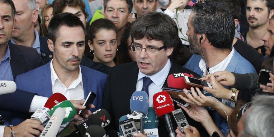 """Puigdemont: """"Katalonya Bağımsızlığa Hazır"""""""